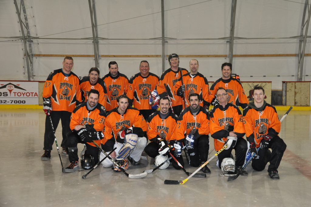 Équipe 2012 - Les Éperviers de La Corne